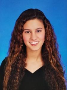Carly Medina, NACOPRW Miami scholarship winner of 2015